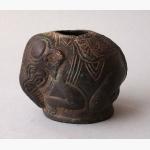 Bronze kl. Vase