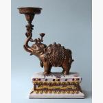 Ele. Bronze und Porzellan China
