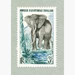 Ele. Briefmarken Afrique Equatoriale Francaise