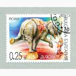 Ele. Briefmarken Bulgarien