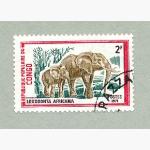 Ele. Briefmarken Congo