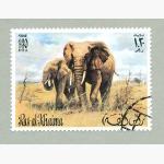 Ele. Briefmarken Emirate 2