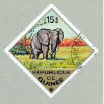 Ele. Briefmarken Guinea 15 S