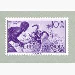 Ele. Briefmarken Guinea Espanol