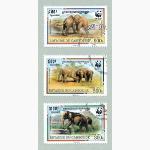 Ele. Briefmarken Kambodscha