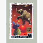 Ele. Briefmarken Korea 1987