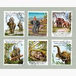 Ele. Briefmarken Lao 1982-1983