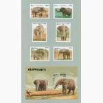 Ele. Briefmarken Laos