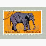 Ele. Briefmarken Nagaland Indien