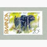 Ele. Briefmarken Rwanda