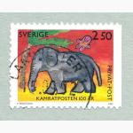 Ele. Briefmarken Schweden