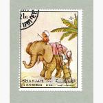 Ele. Briefmarken Sharjah