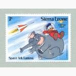 Ele. Briefmarken Sierra Leone