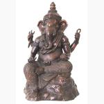 Ele. Bronze Feinguss Gr. Ganesha Thailand