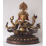 Ele. Bronze gr. Ganesha Tibet