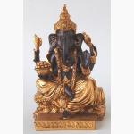 Ele, Ganesha braun-gold 1