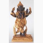 Ele. Ganesha braun-gold 2