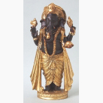 Ele. Ganesha braun-gold 3