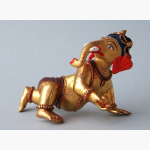 Ele. Ganesha Bronze bemalt
