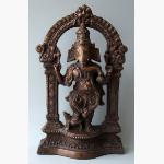 Ele. Ganesha Bronze im Bogen