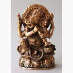 Ele. Ganesha mit Blasinstrument