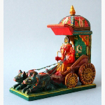 Ele. Ganesha mit Wagen