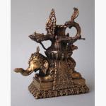 Ele. Ganesha sakrales Gefäß