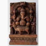 Ele. Holz Ganesha Altar