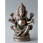 Ele. Metall Ganesha vernickelt 1
