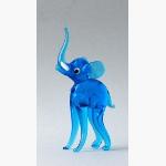 Ele. Glas Blau lange Beine