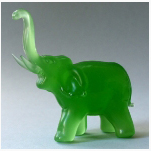 Ele. Glas grün