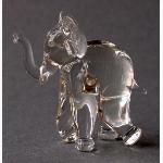 Ele. Kleiner Klarglaselefant