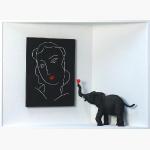 Matisse, Homage to, Ein verliebter Elefant für Matisse