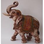 Ele. Großer Holzelefant
