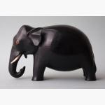 Ele. Holz black elephant
