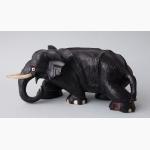 Ele. Holz kriechender Elefant