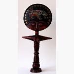 Ele. Holz und Perlen Kultfigur Afrika