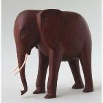 Ele Schlanker Holzelefant