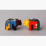 Ele. Plastik Anhänger-Puzzle