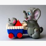 Ele. Plastik mechanischer Kinderwagen