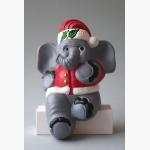 Ele. Weihnachtselefant