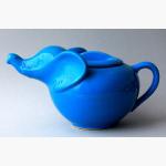 Ele. Keramik blaue Teekanne
