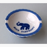 Ele. Porzellan Ascher Blue Elephant