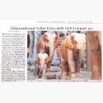 Elefantenausstellung Wümme Zeitung  20.02.2014