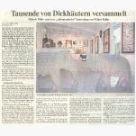 Weser Kurier /  Wümme Zeitung   25. Oktober 2005
