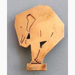 Ele. Art Deco Brosche
