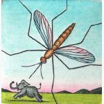 Mücke und Elefant