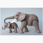Ele. 2 Playmobil- Elefanten