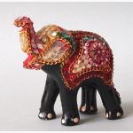 Ele. kl. dekorierter Elefant