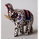 Ele. kl. dekorierter Elefant 2